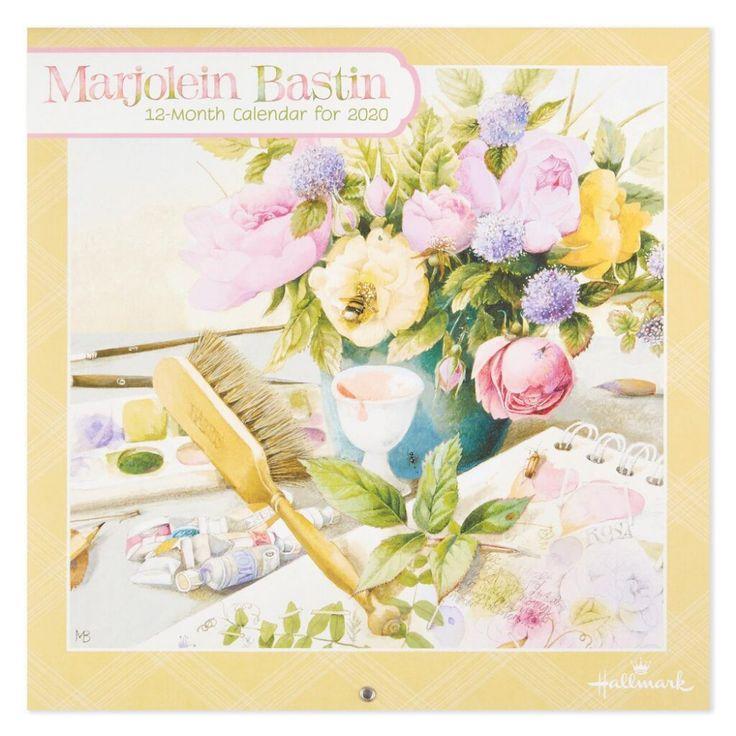 Marjolein Bastin Flowers 2020 Wall Calendar, 12Month