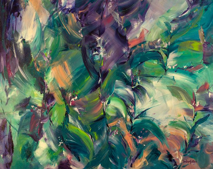"""""""Tropical Dream"""" by Amber Gittins. Paintings for Sale. Bluethumb - Online Art Gallery"""