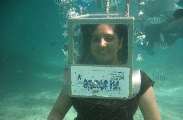 Under water #GrabYourDream #Adventure #Travel #Contest