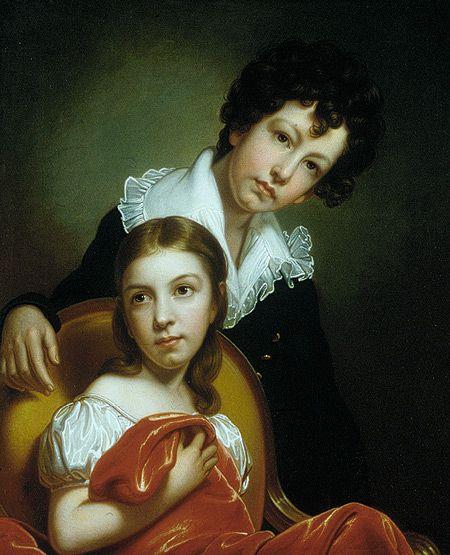 1826 Rembrandt Peale: Michael Angelo and Emma Clara Peale (2000.151) | Heilbrunn Timeline of Art History | The Metropolitan Museum of Art
