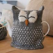 Owl Tea Cosy Knitting Pattern - via @Craftsy