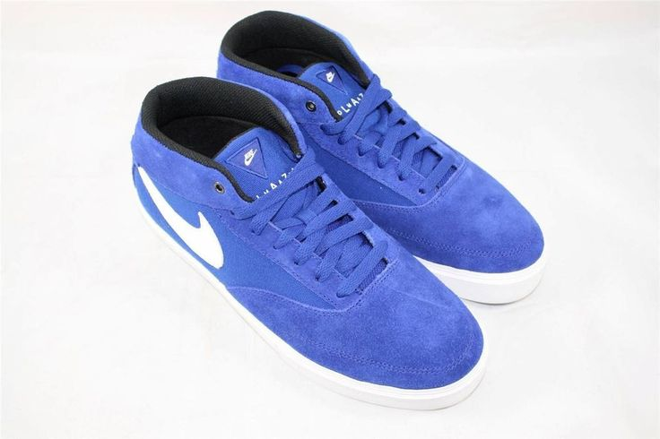 Brand New Nike Omar Salazar LR Size 9.5 Drenched Blue White 472660 411 #Nike #AthleticSneakers