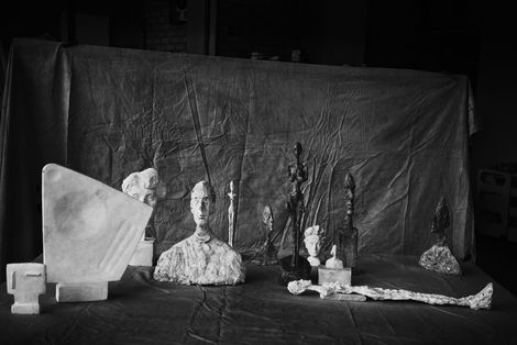 Peter Lindbergh, Alberto Giacometti II on ArtStack #peter-lindbergh #art