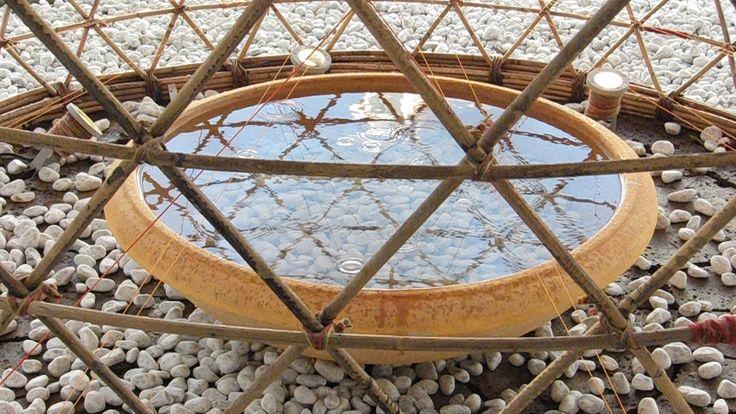 Galería de Proyecto WARKA: Torres de bambú que recogen agua potable del aire - 6