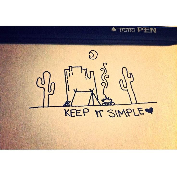 "I decided to practice this cute little drawings basing on the ""Keep It Simple"" theme. I recently ..."