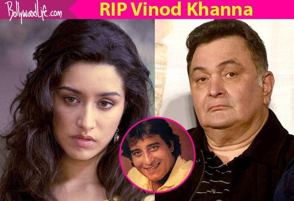 RIP Vinod Khanna: Shraddha Kapoor, Rishi Kapoor, Anupam Kher mourn the death of Bollywood's legendary actor #FansnStars