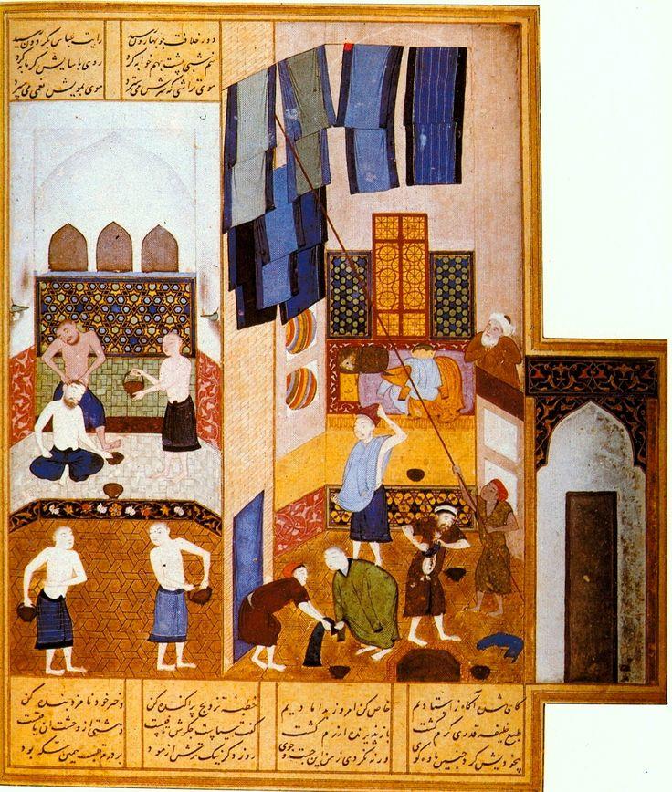 Haron Alrashid went to Bathhouse...