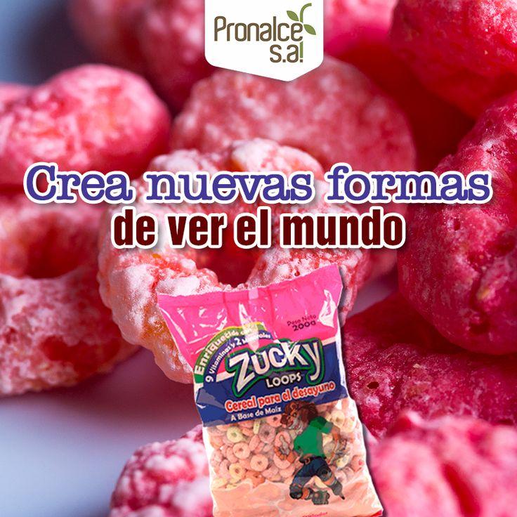 A la hora de cocinar puedes ser creativo con todo lo que tienes a tu alcance en la alacena, como los #Cereales #Zucky Aros Afrutados. #Pronalce #DelSur #Chocotom #cereal #breakfast #desayuno #avena #integral #salud #saludable #feliz #love #hojuelas #maiz #lonchera #snack #granola #frutosrojos #banano #deleitar #alimentos #granos