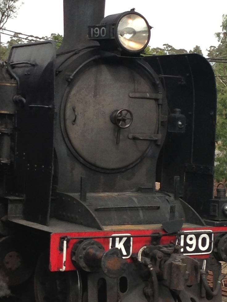 Castlemaine-Maldon Steamtrain