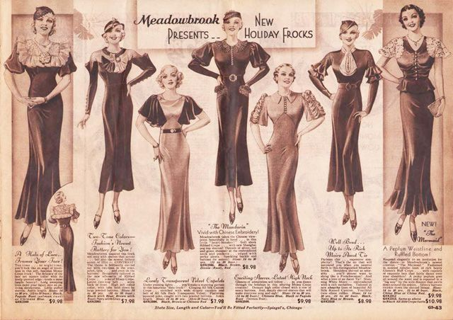 Wish I could have seen the Museum at FIT's exhibit, Elegance in an Age of Crisis: Fashions of the 1930s.