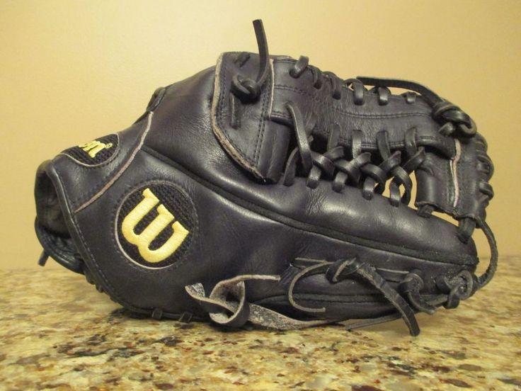"Black Wilson A2000 Pro Stock 1796B 11 3/4"" RHT Baseball"