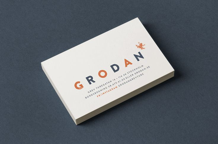 Grodan is a brasserie and bar located in central Stockholm that has been run by the same management for over 30 years. We were asked to rebrand the restaurant with the goal of adding more personality and to emphasize the french influence in the kitchen. Our work included signage, printed matter and Grodan's own brand …