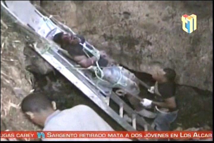 Un Supuesto Asaltante Pierde La Vida Al Caer En Una Cueva Tras Ser Perseguido Por La PN En La Romana