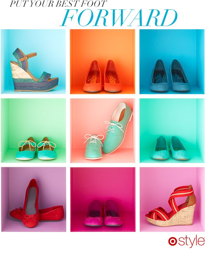 Style Resolution A style resolution is like a New Year's resolution but cuter. Here's to a chicer, better you. In 2013, put your best foot forward (whether it's a wedge or a fab flat!) own it now: shoes.