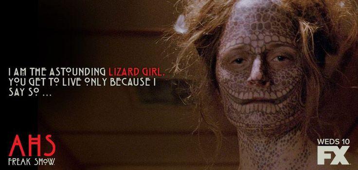 American Horror Story: Freak Show... Lizard Girl