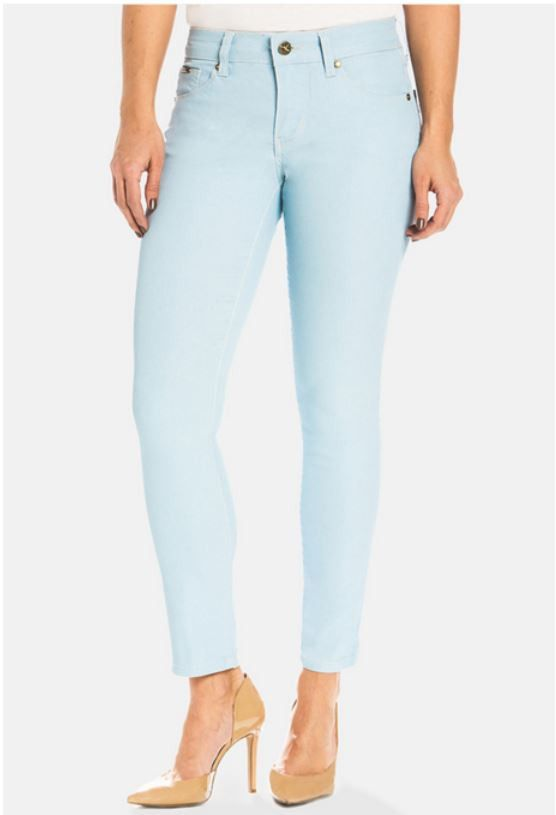 Audrey Ankle in Ice Blue by Beija-Flor