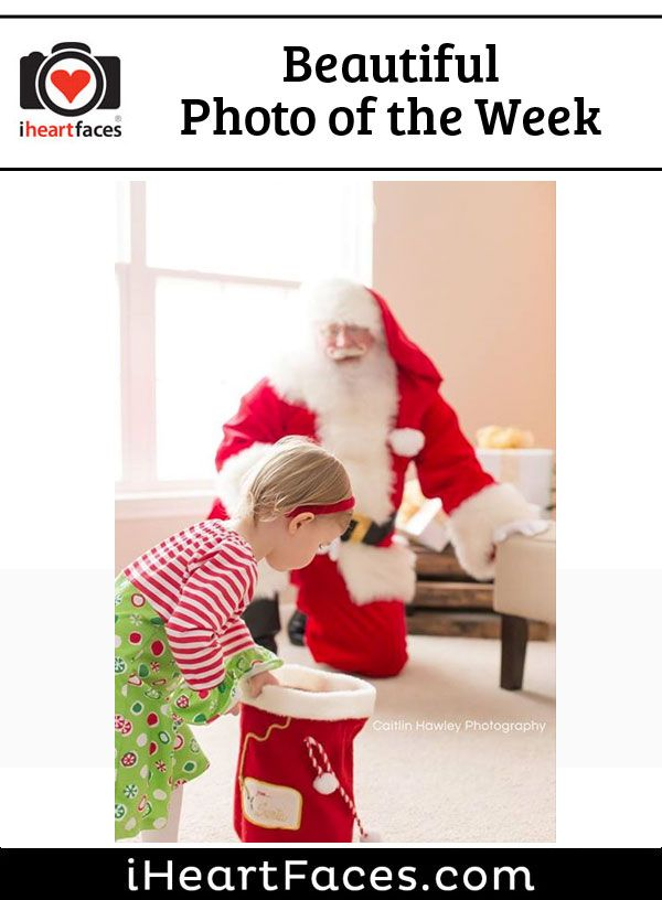 Beautiful Photo of the Week #photography #iheartfaces #holiday #christmas #santa