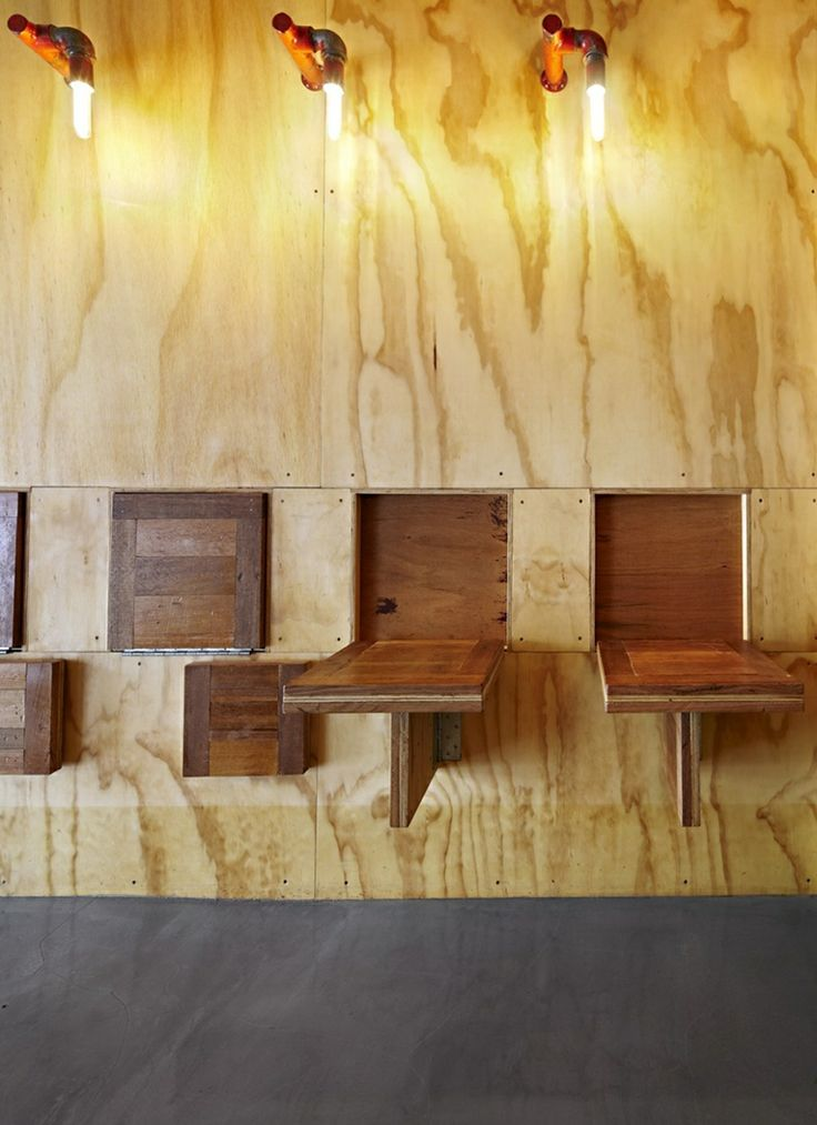 brolly design have designed flipboard a tiny multi level cafe in melbourne australia - Multi Cafe Decoration