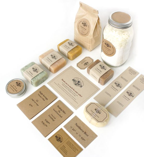 Roots Soap Co on Behance