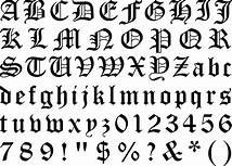 old english lettering alphabet - Saferbrowser Yahoo Image Search Results