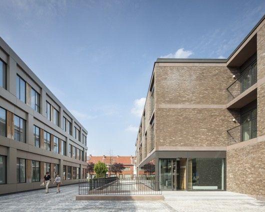Tim Van De Velde Architects - Areal Architecten, Mortsel, Belgium