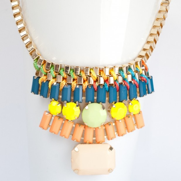A perfect statement necklace from Astrid and Miyu, current King's Road tenants