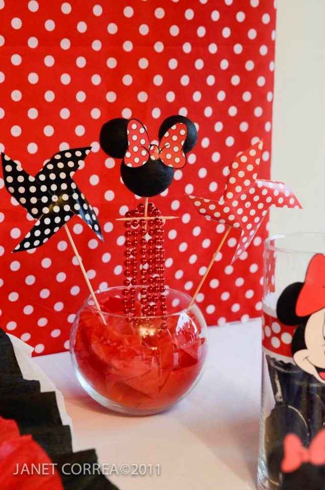Minnie Decoracion Mesa ~ Minnie Mouse  Decoraci?n de mesa  Fiestas infantiles  Pinterest