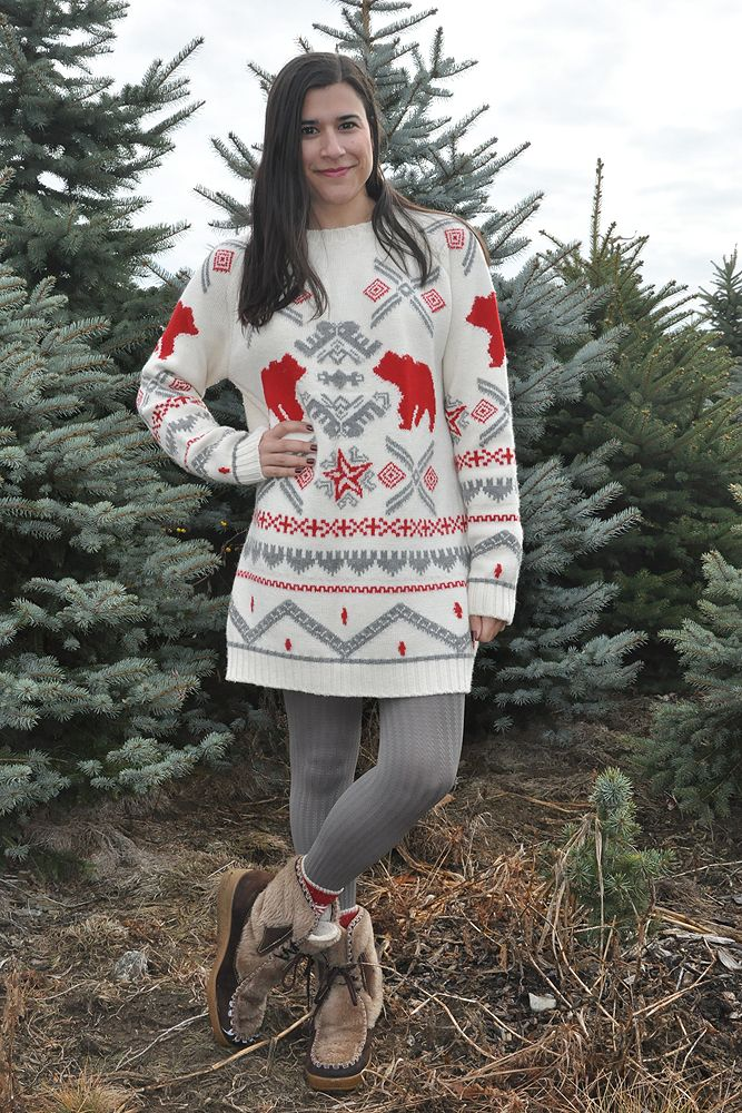 {outfit} Christmas Tree Hunting | Closet Fashionista