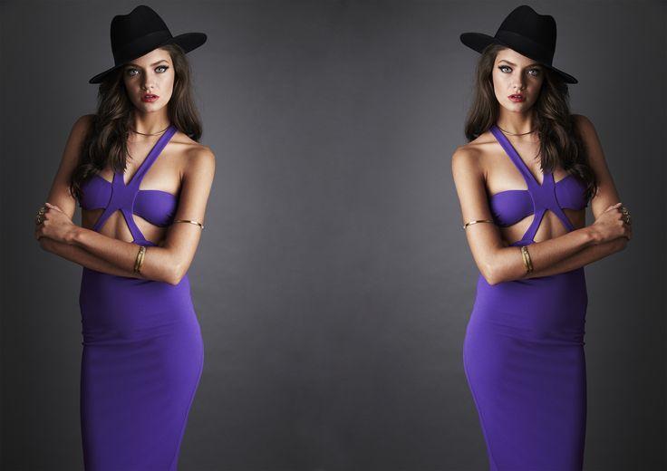 CLAUDIA BODYCON DRESS - Purple #nookie #shesgotthelook #lovenookie
