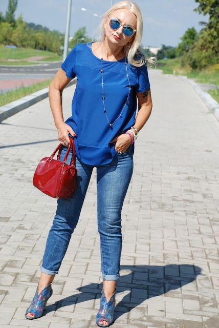 Babooshka Style - Blog modowy: Blue blue