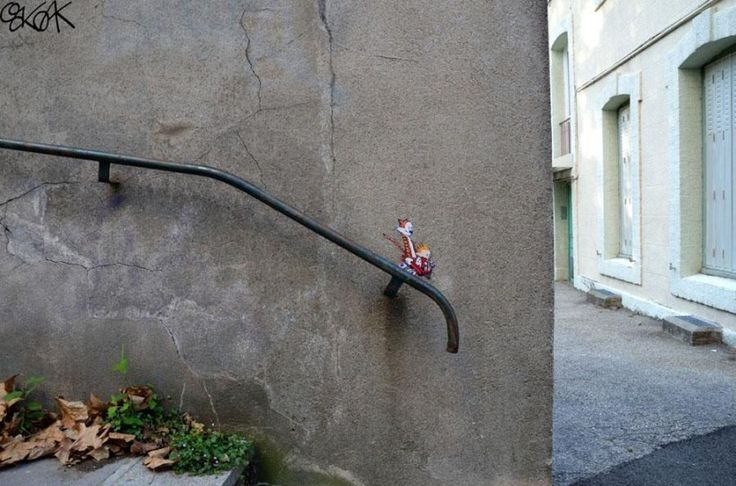 These 20 works of street art are so brilliant, that you'll think that they are real life.