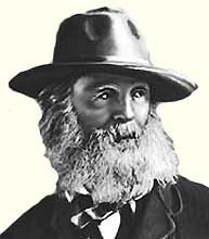 Уолт Уитмен (Walt Whitman) (1819-1892) — американский поэт, публицист. Реформатор американской поэзии - http://to-name.ru/biography/walt-whitman.htm
