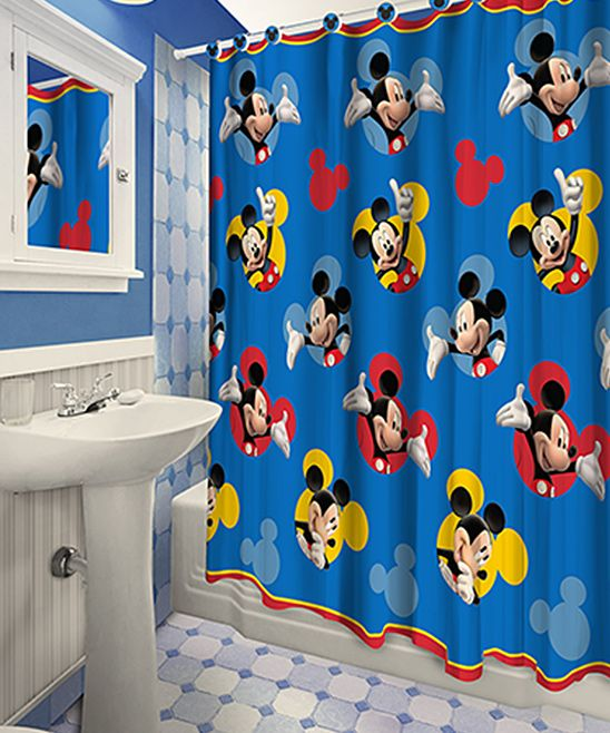 25+ Best Ideas About Mickey Mouse Shower Curtain On Pinterest