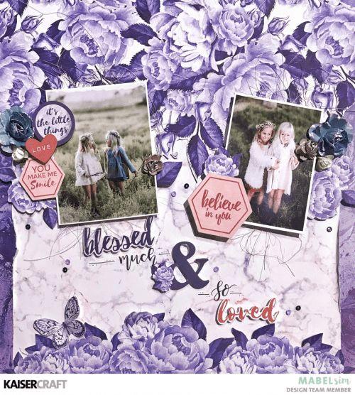 Kaisercraft Misty Mountains - Mabel Sim