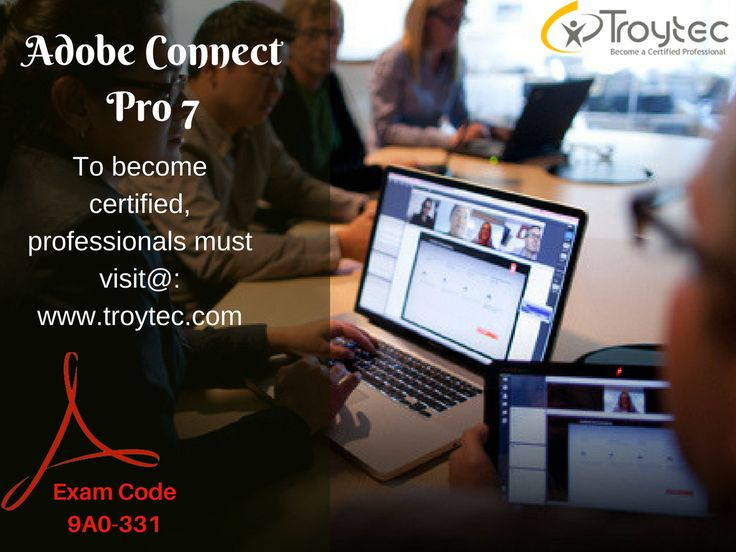 you will not waste precious studying hours filling your head with useless information. Furthermore #adobe Connect #Pro7 exam #Code- 9A0-331 visit@:http://www.troytec.com/9A0-331-exams.html