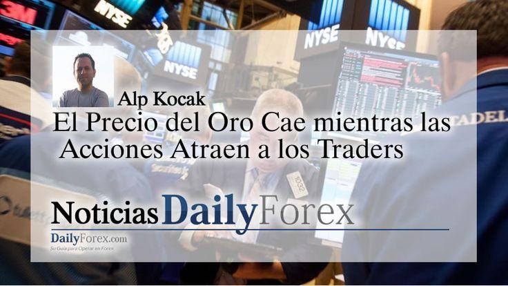 El Precio del Oro Cae mientras las Acciones Atraen a los Traders | EspacioBit -  https://espaciobit.com.ve/main/2017/04/26/el-precio-del-oro-cae-mientras-las-acciones-atraen-a-los-traders/ #Forex #DailyForex #Oro #Gold #Mercados #Markets