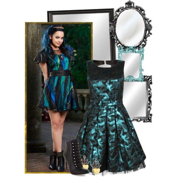 Evie by bluetidegirl on Polyvore featuring BCBGMAXAZRIA, Irit Design, Home Decorators Collection and Disney