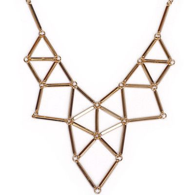 B012 Geometric hollow fashion collar [scml-n012] - $9.99 : Fashion jewelry promotion store,Supply all kinds of cheap fashion jewelry, shop at Costwe.com