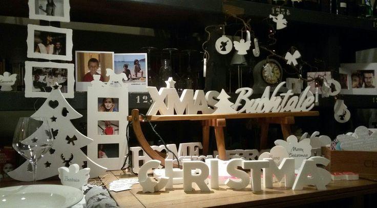 Il Lettering natalizio! Nomi e scritte in rilievo, da appendere o da appoggio