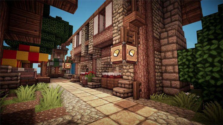 Minecraft - Medieval Bakery - Imgur