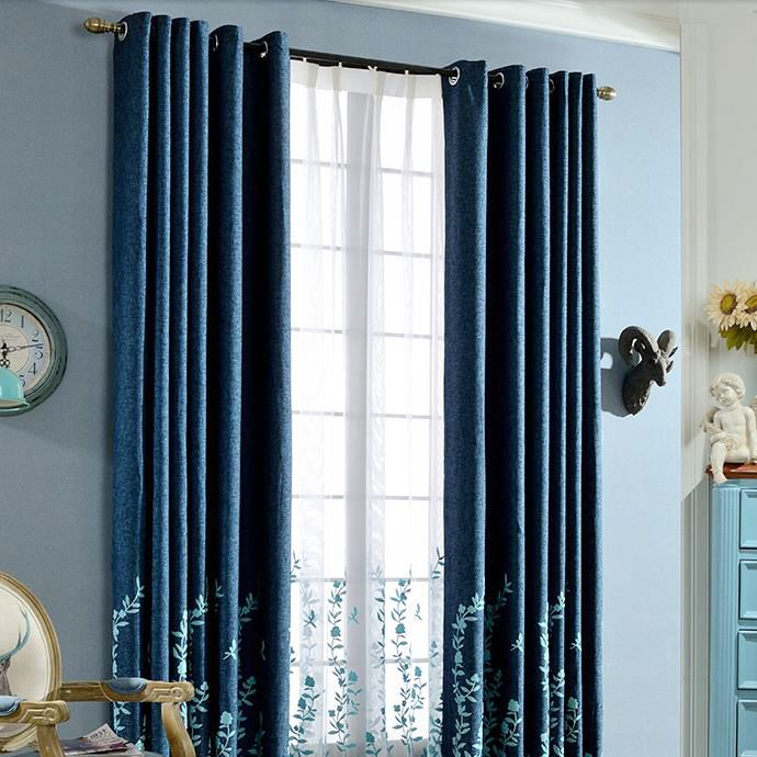 Best 25+ Navy blue curtains ideas on Pinterest | Blue and ...