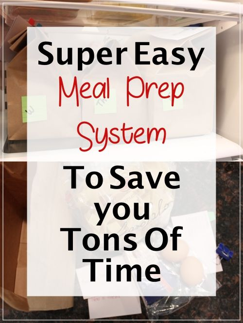 So easy to prep meals in no time from real ingredients! I love this system!