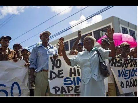 Protesta De Haitianos Una Provocacion Para Autoridades Y