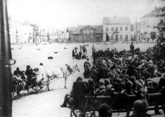 Deportation of the Jews from Lublin, Poland, 1942.
