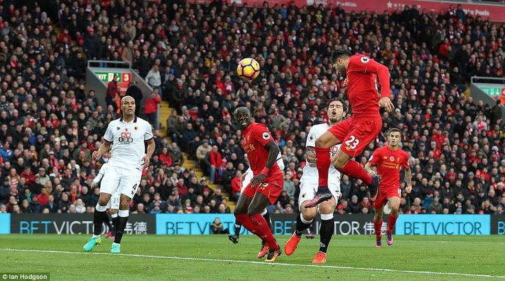 The contest was effectively ended five minutes before the interval when Emre Can rose highest to power a header home