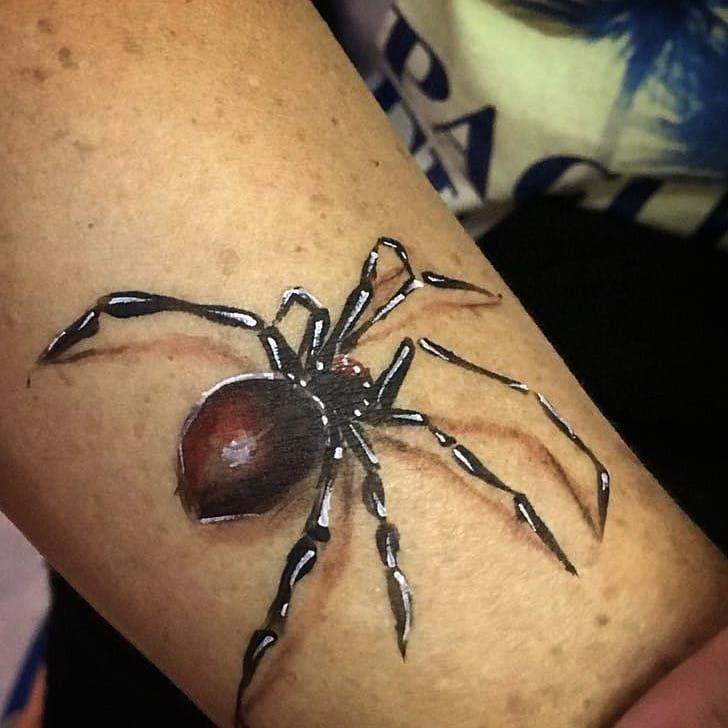 Instagram 上的 Agustin W Face N Body Painter Spider 3d Body