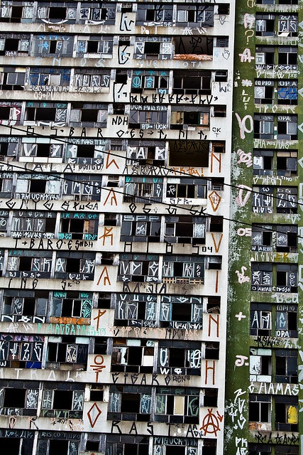 Even the gritty side of Brazil inspires us. Graffiti, Sao Paulo. Visit us at www.melko.com.au!