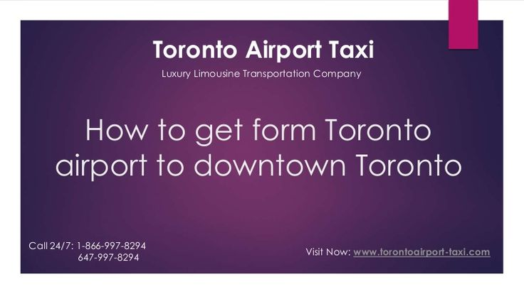 Getting the Limousine toronto airport to downtown toronto with toronto airport taxi.Toronto airport taxi company best affordable rates provide the limousine service to toronto and outside the toronto.  Visit Now: www.torontoairport-taxi.com