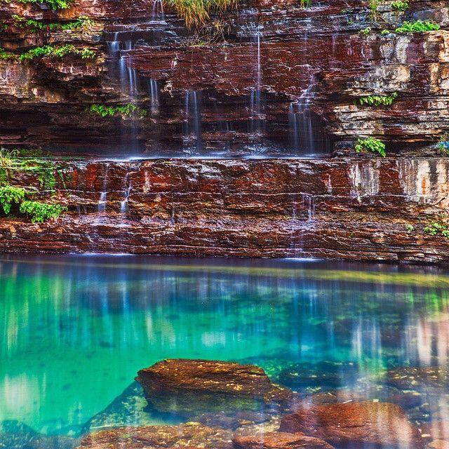 Circular Pool, Karijini National Park, Western Australia.