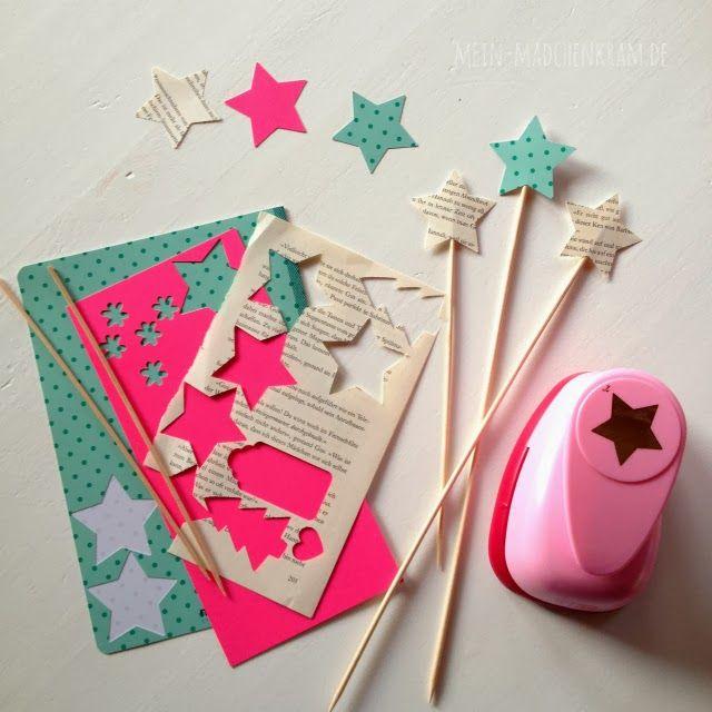 Kann man aber auch mit Plätzchenausstecher oder anderen Objekten machen. Sehen schön als Blumentopf - Stecker aus!